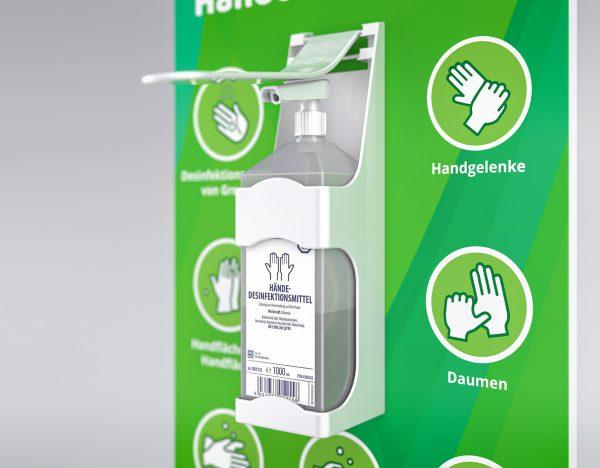 Desinfektionsständer Vorrichtung für Flasche